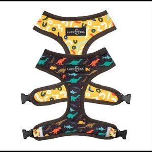 """Lucy and Co """"Prehistoric Party"""" Reversible Harness"""